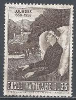 Vatican City 1958. Scott #237 (M) Sick Man And Basilica * - Vatican