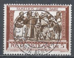 Vatican City 1960. Scott #284 (U) ''Act Of Mercy'' Feeding The Hungry * - Vatican
