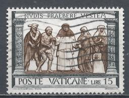 Vatican City 1960. Scott #286 (U) ''Act Of Mercy'' Clothing The Naked * - Vatican