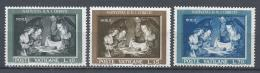 Vatican City 1960. Scott #292-4 (M) Holy Family, By Gerard Van Honthorst * Complet Set - Vatican