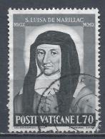 Vatican City 1960. Scott #296 (U) St. Louisa De Marillac * - Vatican