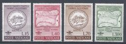 Vatican City 1962. Scott #326-9 (MNH) WHO Drive To Eradicate Malaria * - Vatican