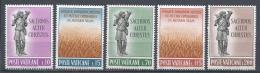 Vatican City 1962. Scott #330-4 (MNH) The Good Shepherd & Wheatfield (Luke 10.2) * Complet Set - Vatican