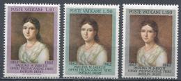 Vatican City 1962. Scott #338-40 (MNH) Paulina M. Jaricot (1799-1862) ** Complet Set - Vatican