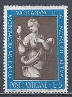 Vatican City 1962. Scott #345 (M) ''Faith'' By Raphael * - Vatican