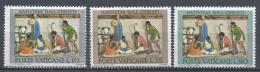 Vatican City 1962. Scott #353-5 (MNH) Nativity Scene * Complet Set - Vatican