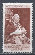 Vatican City 1963. Scott #360 (M) Pope John XXIII * - Vatican