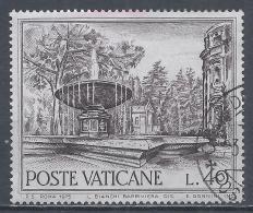 Vatican City 1975. Scott #574 (U) Fountain Of Rome, Piazza St. Martha, Apse Of St. Peter's * - Vatican