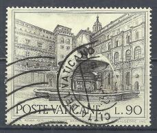Vatican City 1975. Scott #576 (U) Fountain Of Rome, Belvedere Courtyard * - Gebruikt