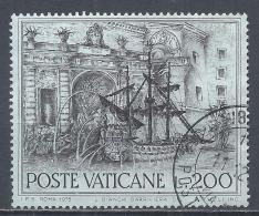 Vatican City 1975. Scott #578 (U) Fountain Of Rome, Galleon * - Vaticaanstad