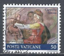 Vatican City 1991. Scott #870 (U) Painting Of The Sistine Chapel, Eleazar * - Vatican