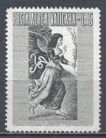 Vatican City 1956. Scott #C24 (M) Archangel Gabriel By Melozzo Da Forli * - Poste Aérienne