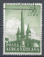 Vatican City 1959. Scott #C40 (U) Obelisk Of  St. John Lateran * - Poste Aérienne