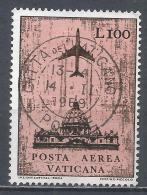 Vatican City 1959. Scott #C50 (U) Jet Over St. Peter's Cathedral * - Poste Aérienne