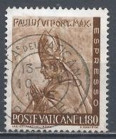 Vatican City 1966. Scott #E18 (U) Pope Paul VI By Enrico Manfrini * - Exprès