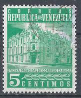 Venezuela 1958. Scott #703 (U) Main Post Office, Caracas * - Venezuela