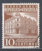 Venezuela 1958. Scott #704 (U) Main Post Office, Caracas * - Venezuela