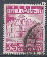 Venezuela 1958. Scott #707 (U) Main Post Office, Caracas * - Venezuela