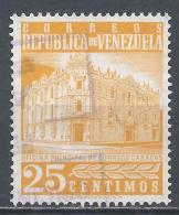 Venezuela 1960. Scott #748 (U) Main Post Office, Caracas * - Venezuela