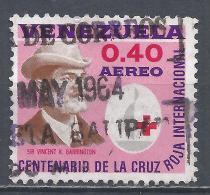 Venezuela 1963. Scott #C840 (U) Sir Vincent K. Barrington, Red Cross * - Venezuela