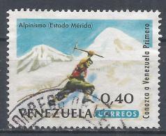 Venezuela 1964. Scott #864 (U) Mountaineer, Merida * - Venezuela