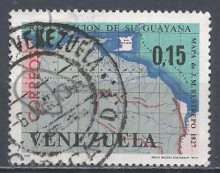 Venezuela 1965. Scott #887 (U) Map Of Venezuela And Guiana, By Juan M. Restrepo, 1827 * - Venezuela