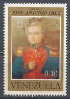 Venezuela 1973. Scott #1032 (MNH) José Antonio Paez (1790-1873), President * - Venezuela