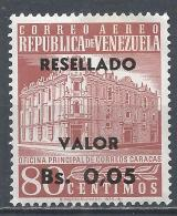 Venezuela 1965. Scott #C858 (MNH) Main Post Office, Caracas * - Venezuela