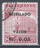 Venezuela 1965. Scott #C859 (U) Main Post Office, Caracas * - Venezuela
