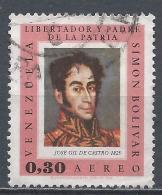 Venezuela 1966. Scott #C941 (U) Simon Bolivar, By José Gil De Castro 1825 * - Venezuela