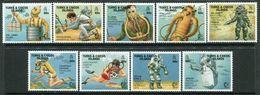 Turks & Caicos Islands 1995 Deep Sea Diving Set MNH (SG 1357-65) - Turks And Caicos
