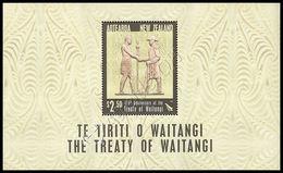 Nuova Zelanda / New Zealand 2015: Foglietto Trattato Di Waitangi / Treaty Of Waitangi S/S ** - Blocks & Sheetlets