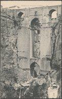 El Puente Nuevo, Ronda, Málaga, Andalucía, C.1910 - Hauser Y Menet Tarjeta Postal - Málaga