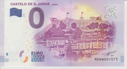 Billet Touristique 0 Euro Souvenir Portugal - Castelo De S. Jorge Lisboa 2018-1 N°MENN007075 - Private Proofs / Unofficial