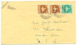 India 1961 Book Post Cover Jowai - St. Mary Mazzarello's Orphanage To U.S. - India