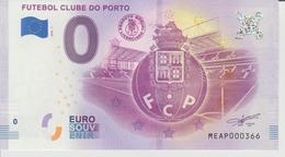 Billet Touristique 0 Euro Souvenir Portugal - Futebol Clube Do Porto 2018-1 N°MEAP000366 - Private Proofs / Unofficial