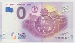 Billet Touristique 0 Euro Souvenir Portugal - Futebol Clube Do Porto 2018-1 N°MEAP000367 - Private Proofs / Unofficial