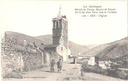 FR66 ERR - Brun 226 - L'église - Animée - Belle - Autres Communes