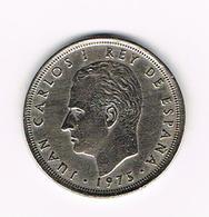 &-  SPANJE 25 PESETAS 1975 (77)  JUAN  CARLOS - [ 5] 1949-… : Royaume