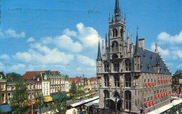 004315  Gouda - Markt Met Stadthuis  1963 - Gouda