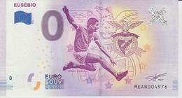Billet Touristique 0 Euro Souvenir Portugal - Eusebio 2018-1 N°MEAN004976 - Private Proofs / Unofficial