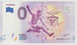 Billet Touristique 0 Euro Souvenir Portugal - Eusebio 2018-1 N°MEAN004977 - Private Proofs / Unofficial