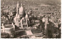 L150b238 - Paris -En Avion - La Basilique Du Sacré Coeur De Montmartre  - André Leconte  N°3515 - France