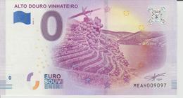 Billet Touristique 0 Euro Souvenir Portugal - Alota Douro Vinhateiro 2018-1 N°MEAH009097 - Private Proofs / Unofficial