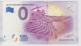 Billet Touristique 0 Euro Souvenir Portugal - Alota Douro Vinhateiro 2018-1 N°MEAH009098 - Private Proofs / Unofficial
