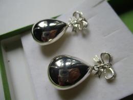 Orecchini A Goccia In Argento - Earrings