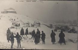 Armée D'orient Guerre 14 CP Carte Photo 1915 Serbie Demir Kapou Demir Kapiya Camp Section Hors Rang Macédoine - Serbie