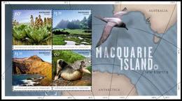 Australia (A.A.T.) 2010: Foglietto Macquarie Island / Macquarie Island S/S ** - Australian Antarctic Territory (AAT)