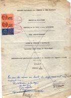 VP12.731 - PARIS - Plan De 1955 - Entre La S.N.C.F Ligne De VIERZON à SAINCAIZE - Gare PONT - VERT & La Société D'AUBY - Chemin De Fer