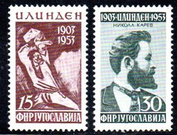 YUG77B - YUGOSLAVIA 1953,  Unificato N. 636/637  Nuovi  *** - 1945-1992 Repubblica Socialista Federale Di Jugoslavia